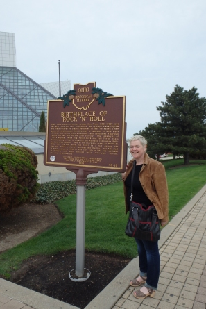 The Rock & Roll Hall of Fame in Cleveland, Ohio